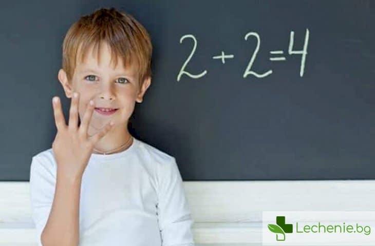 Тренажор за мозъка - защо им е на децата математика