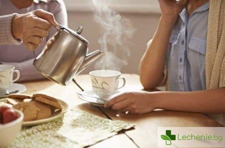 Ето защо горещите кафета и чайове са мощен стимулатор на рака