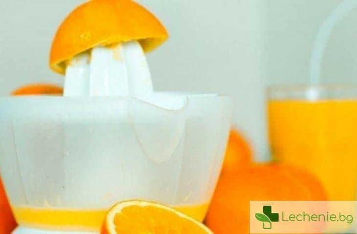 Портокаловият сок предпазва от инсулт