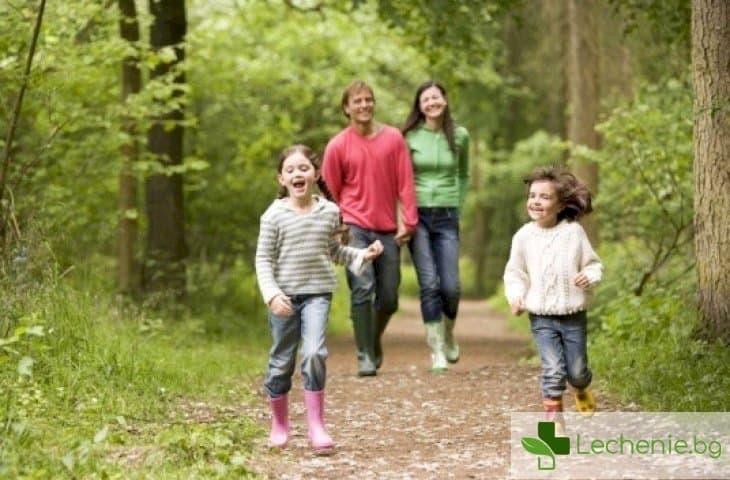 30 минути в гората или в парка ще ви избавят от депресията и лошото настроение