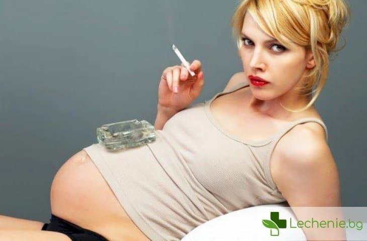 Пушене на майката - висок риск от синдром на внезапна детска смърт