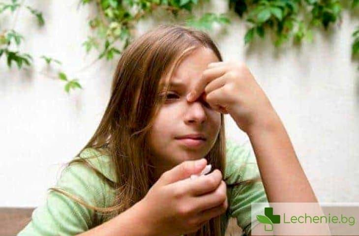 Лечение на синузит при деца - особености