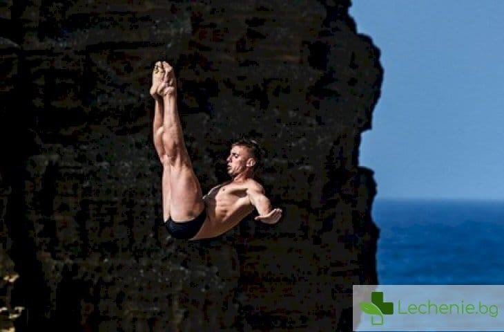 Клиф дайвинг - защо хората скачат от 30-метрови скали