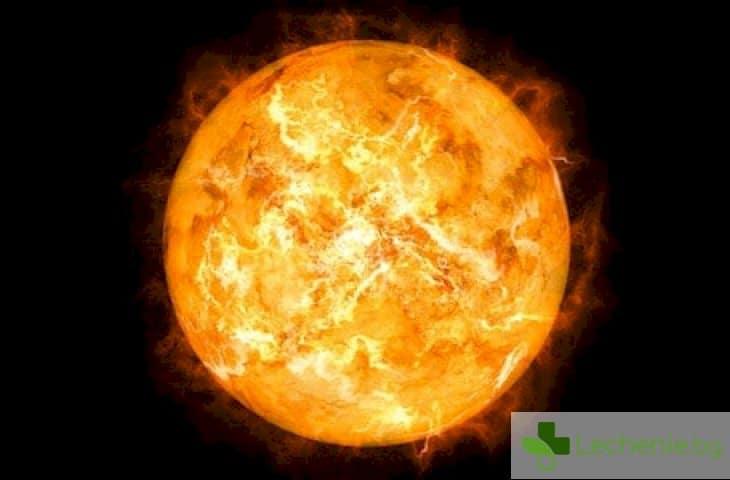Повишената слънчева активност може да причини ранна смърт