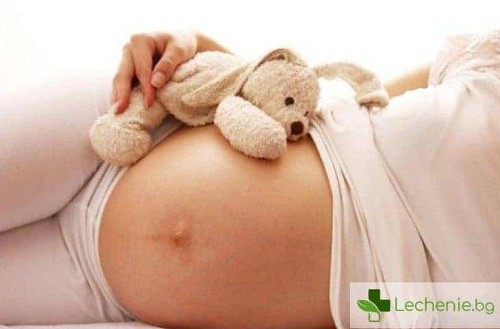 Защо се появява тъмна линия на корема на бременните жени