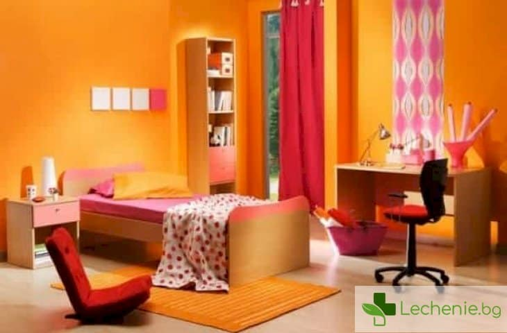 Психология на цвета - кой цвят е най-подходящият цвят за спалня