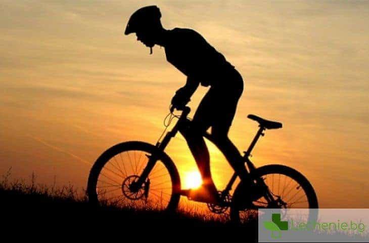 Дългото каране на колело увеличава риска от рак на простатата при мъжете