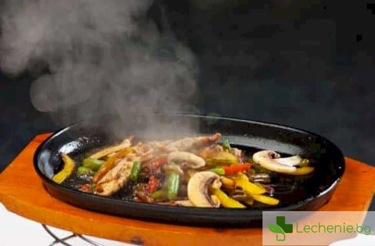 Как високата температура влияе на полезните свойства на хранителните продукти
