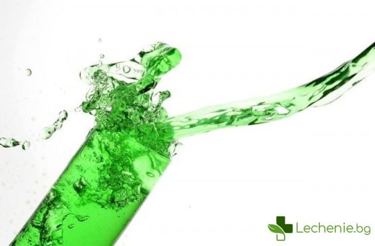 Вода за уста - техника за безопасност
