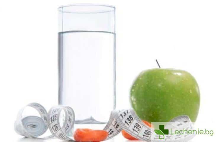 Водна диета - митове и правила за отслабването с вода