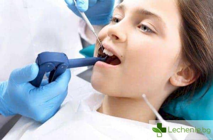 Акулски зъби при детето - ако зъбките растат в 2 редици