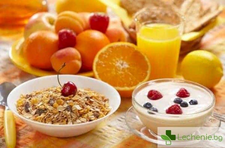 Какво е полезно да се яде на закуска