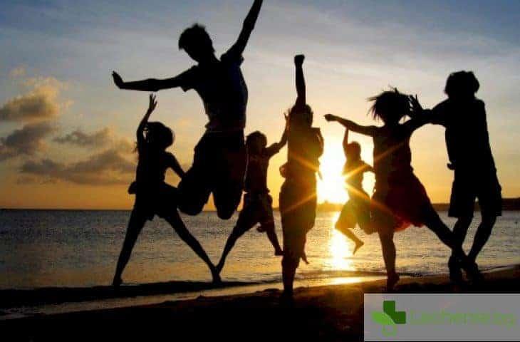 Приятелите и познатите - гаранция за дълголетие и крепко здраве