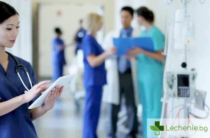Лекари се нахвърлиха върху медицинските сестри, които протестират за по-високи заплати