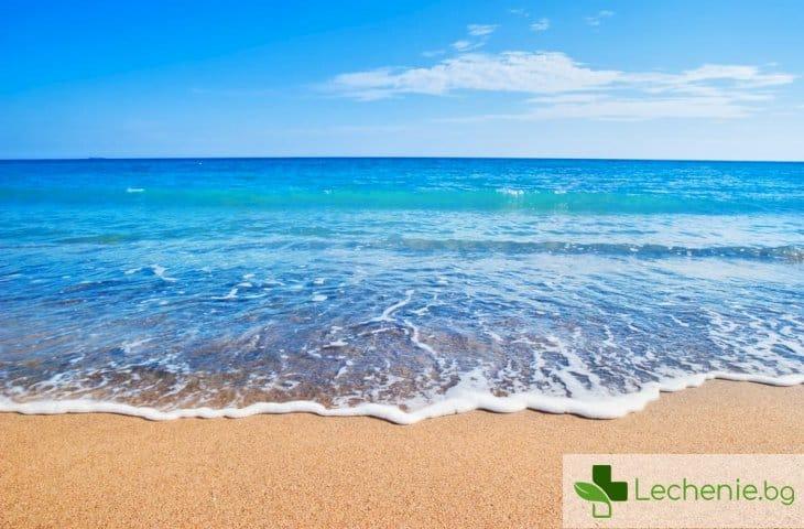 Море и топъл пясък унищожават за отрицателно време COVID-19