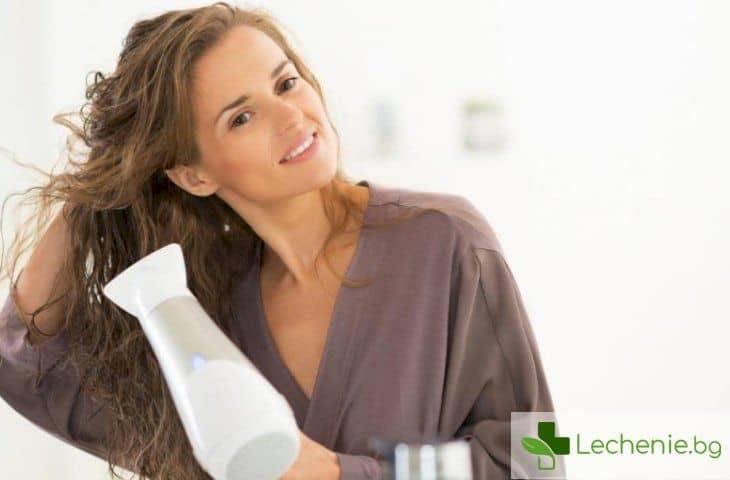 Основни грешки при сушене на косата със сешоар