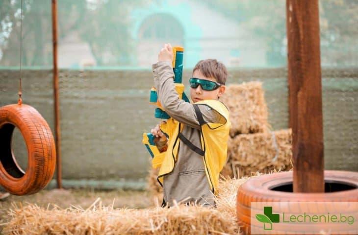 Детските пистолети с хидрогел крият сериозна опасност за очите