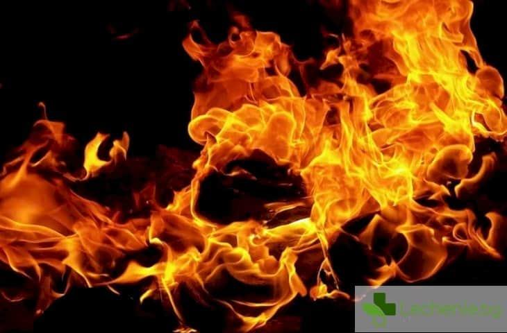 Избухва пожар в гърдите на 60-годишен от памучен тампон