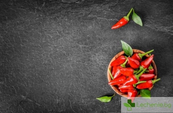 Вдигат имунитета - яденето на люти чушки повече от полезно