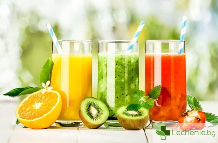 Соковете от пресни плодове по-опасни за здравето от газираното