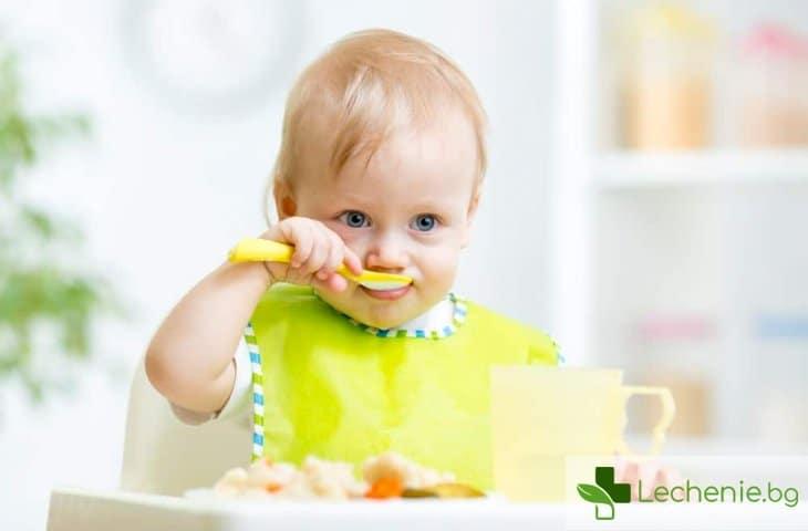 Как да храним детето, когато е болно