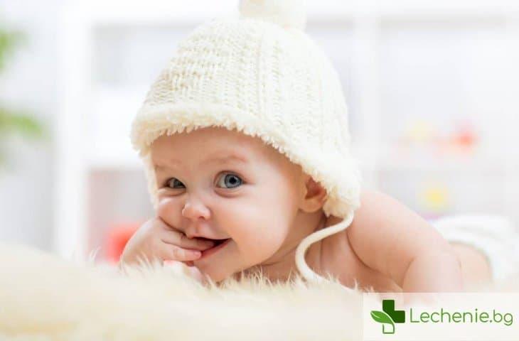 Сухи устни при бебе - провокиращи фактори