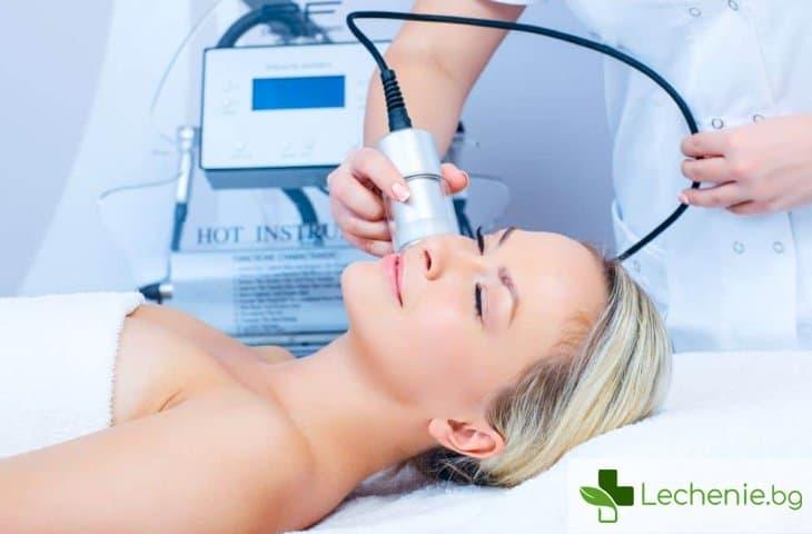 Леден лифтинг - козметична процедура и следи от акне