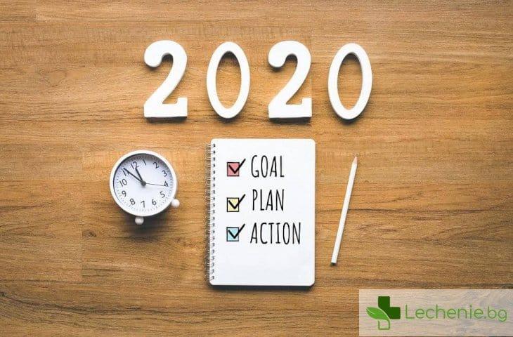 Как да планираме новата 2020 г. в 4 лесни стъпки
