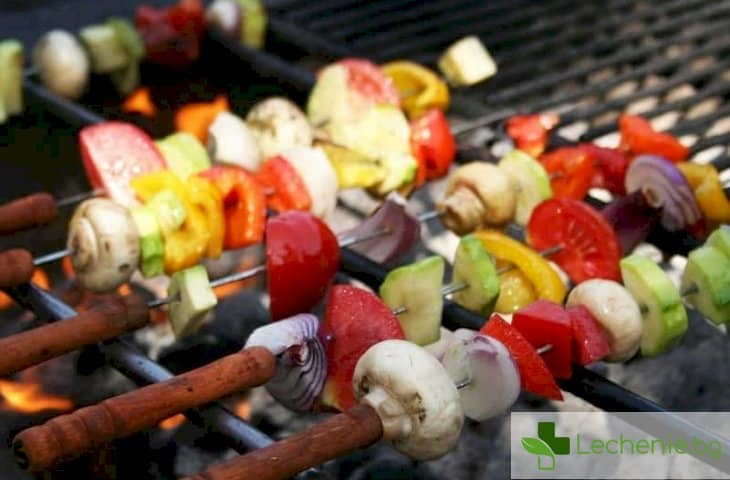 8-те най-добри вегетариански рецепти за барбекю
