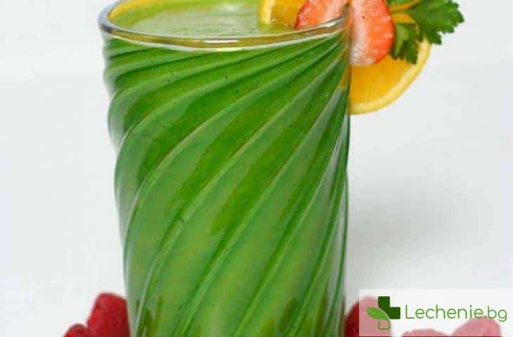 5 причини да започнете да пиете зелен шейк за закуска